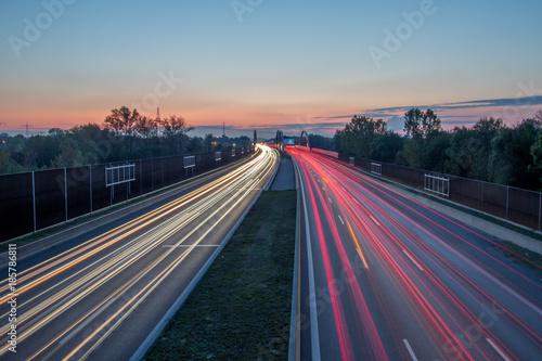 obraz PCV Autobahn