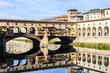Quadro Vasari corridor over the Arno River, florence