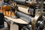 Old Press printing machine closeup - 185804829