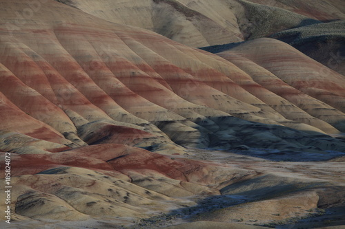 Papiers peints Cappuccino Painted Hills in the John Day Fossil Beds National Monument at Mitchell City, Wheeler County, Northeastern Oregon, USA