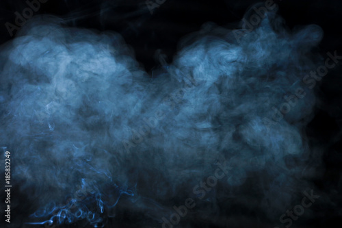 texture, smoke on black background