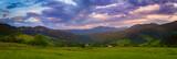 Carpathian mountains...