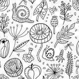 Seamless floral pattern - 185855849