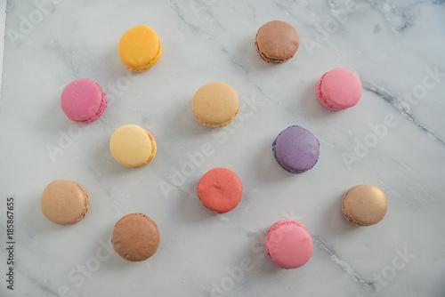 Foto op Plexiglas Macarons Macarons