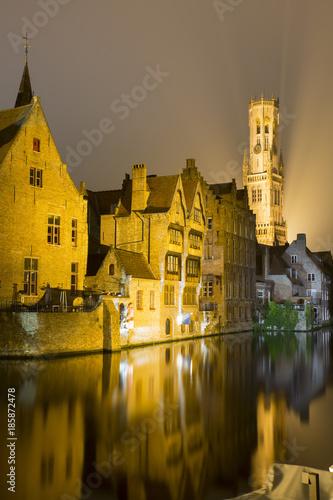 Plexiglas Brugge Belfry - Belfort Brugge