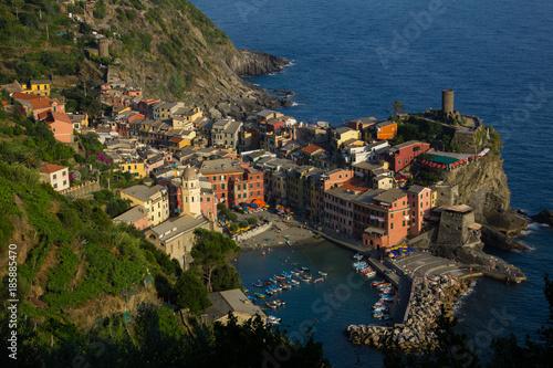 Foto op Plexiglas Liguria Blick auf Vernazza