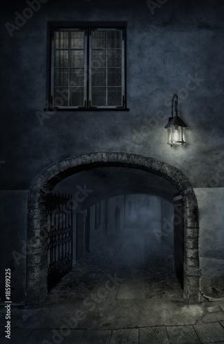 Street, night and light - 185919225