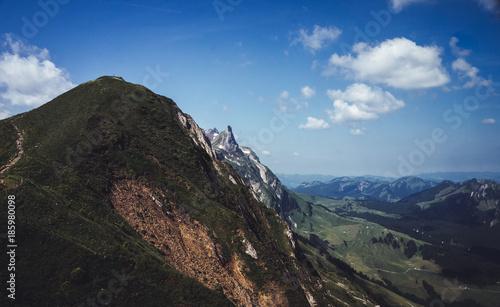 Foto op Aluminium Cappuccino Appenzell Inn-to-inn hiking
