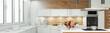 Planung und Entwurf einer Küche als Panorama - 185998616