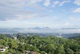 Widok z lotu ptaka na Kandy, Sri Lanka