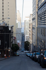 San Francisco streets from above