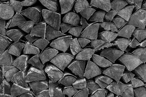 In de dag Brandhout textuur Hölzer aufgestapelt