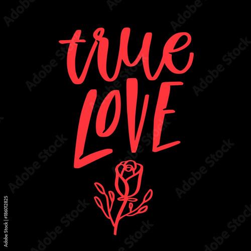 Póster Cita de amor San Valentín