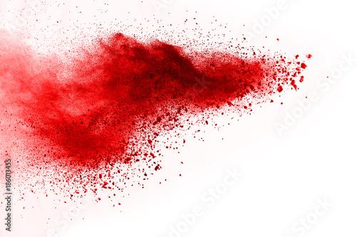 streszczenie-prochu-splatted-tlo-rewolucjonistka-prochowy-proszek-na-czarnym-tle