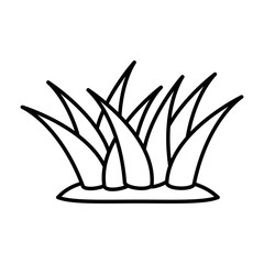 plants cultivated isolated icon