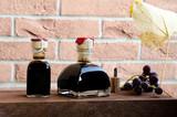 bottiglie di aceto balsamico di Modena - 186018604