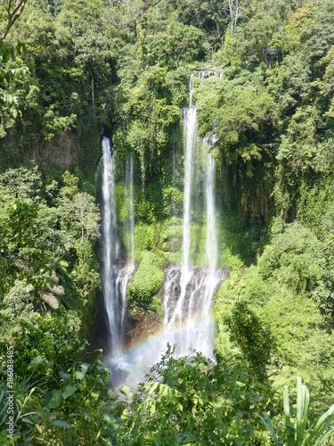 Fotobehang Bali Cascades de Sekumpul