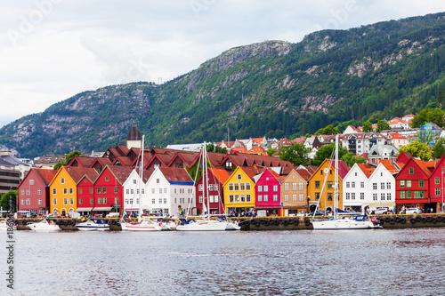Bryggen dock in Bergen