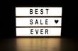 Best sale ever light box sign board