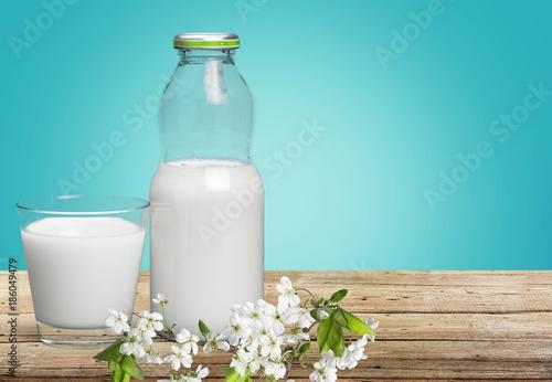 Foto op Plexiglas Milkshake Milk.