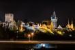 Skyline Bad Wimpfen bei Nacht