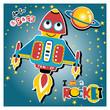 funny rocket cartoon - 186067431