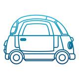 Small car vehicle icon vector illustration graphic design - 186076876