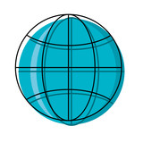 global sphere icon - 186095898