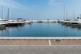 Yachthafen Renderbackplate von Santa Eularia auf Ibiza Spanien 1 - 186100623
