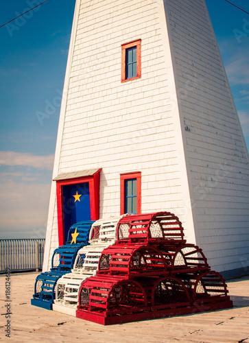 Foto op Plexiglas Canada lighthouse in new brunswick