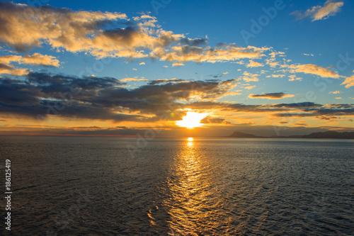 Aluminium Zonsopgang Sonnenaufgang