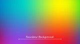 Abstract rainbow background. Blurred colorful rainbow background. Mesh background of rainbow colors. Vector illustration - 186130209