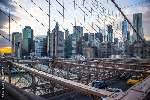 Foto op Aluminium New York from the brooklyn bridge