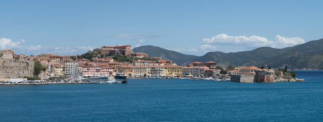 Panorama Portoferraio, Elba, Italien