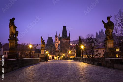 Foto op Canvas Praag Karlsbrücke