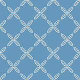 seamless flower pattern - 186197806