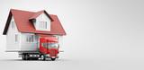 Casa prefabbricata su camion, trasloco, spostamento  - 186200249