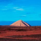 Canary Islands. Fuerteventura. Nature.  Mountains. Minimal Design. - 186200666