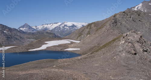 Staande foto Grijs Lac de La Rocheure_01