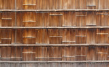 Japanese bamboo wall background