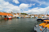 Pittenweem Harbour: Fishing boats, Pittenweem, Fife, Scotland, UK. - 186212659