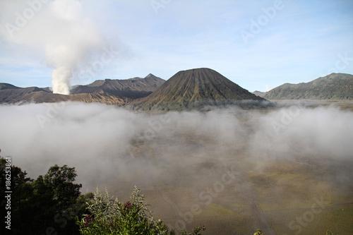 Foto op Canvas Bergen Mont Bromo, Java Indonésie