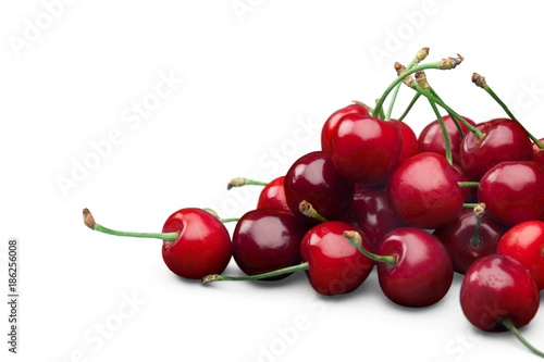 Fotobehang Kersen Red Cherries