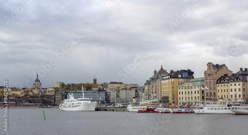 Foto op Canvas Stockholm Stockholm Waterfront