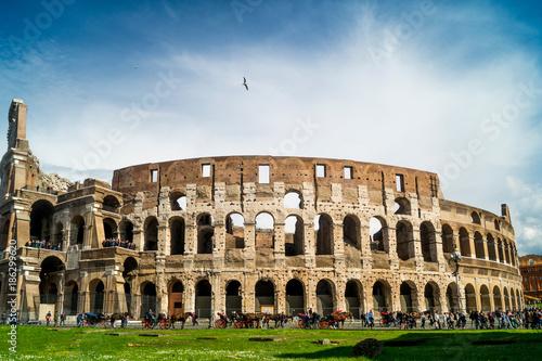 Fotobehang Rome Colosseum at day