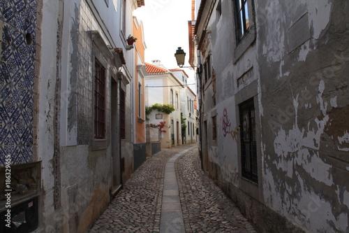 Aluminium Smalle straatjes Medieval Village