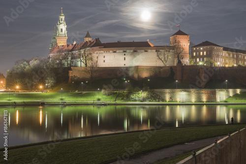 Papiers peints Cracovie Wawel w pełni