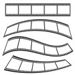 film tape roll movie illustration