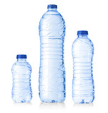 water plastic bottles