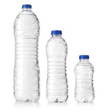 water plastic bottles